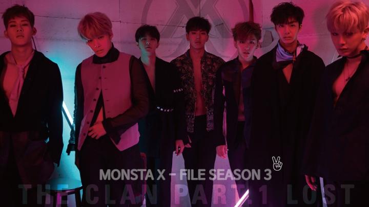 MONSTA X-FILE SEASON 3 EP.2 THE X CLAN'S ROOM (1st anniv.)