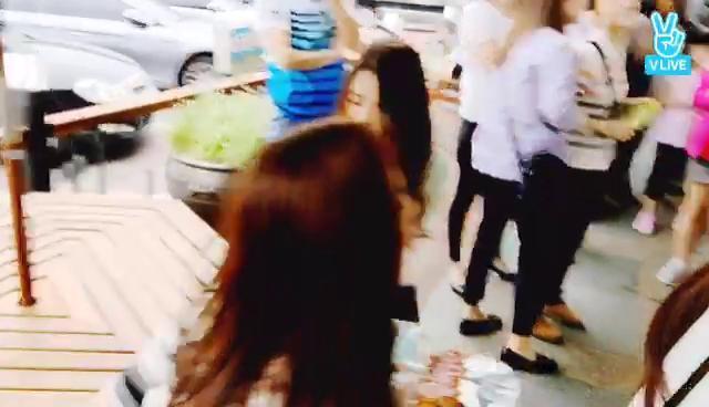 Dalshabet On Air 달샤벳 급 휴게소 먹방!
