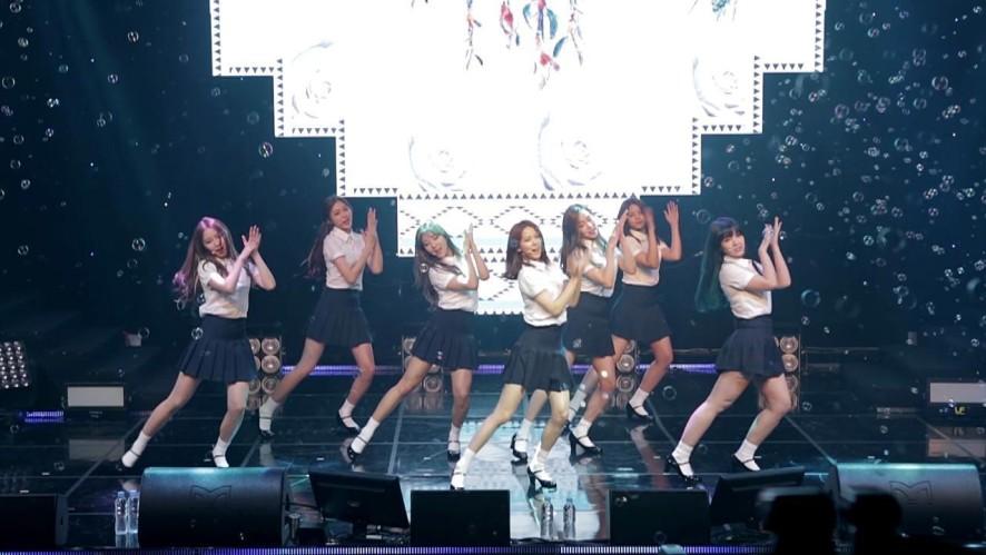 CLC - '하나, 둘, 셋' @ 4th Mini Album <NU.CLEAR> Showcase