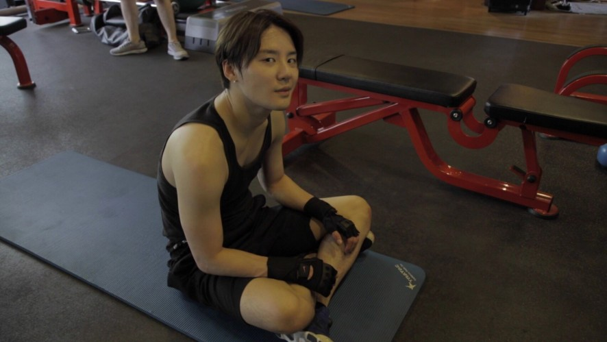 김준수 - 그의 사생활이 궁금하다!! 본격 헬스장 습격