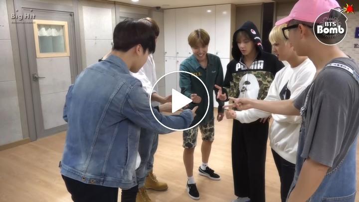 [V LIVE] 방탄소년단 '뱁새' Dance Practice (흥 ver.)