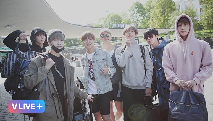 V LIVE - BTS 3rd Anniversary Present