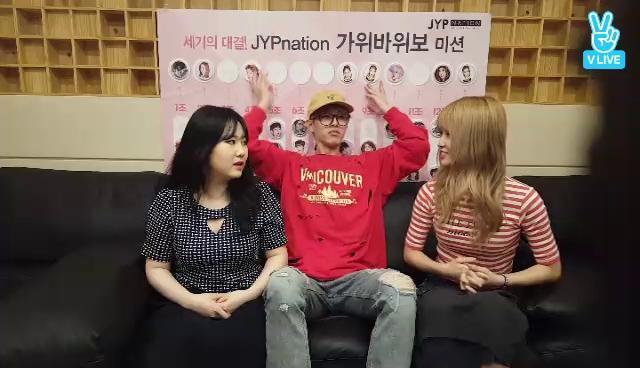 [가위바위보] 지민 VS Jae VS 모모