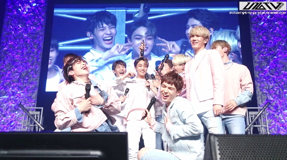 U10TV- 'SPOTLIGHT' 일본 첫 쇼케이스 비하인드