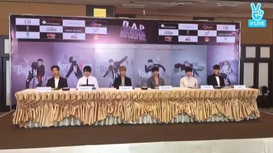 B.A.P Vring U(태국 기자회견2)