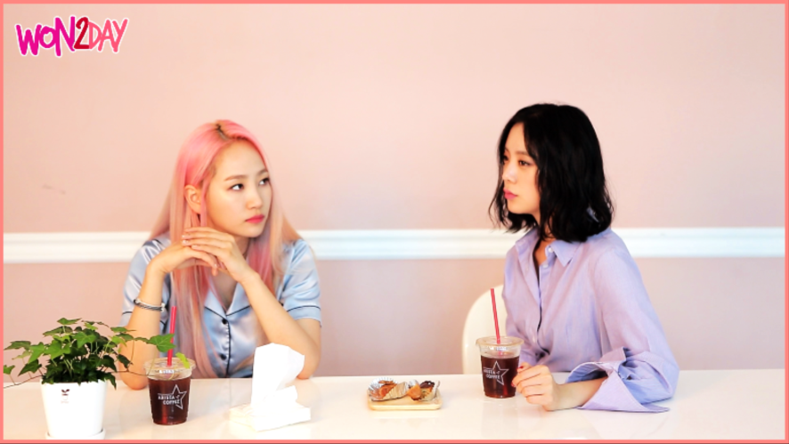 [WON2DAY] 02 예은&혜림 - 연애