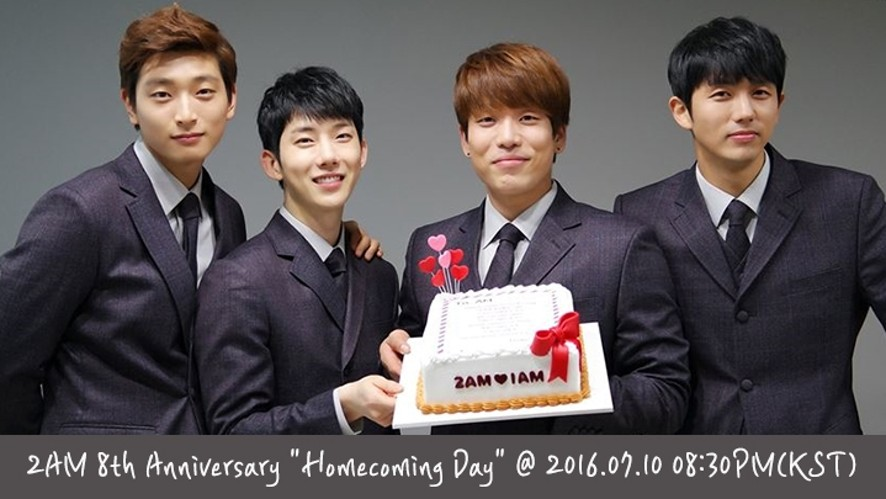 "2AM 8th Anniversary ""Homecoming Day"""