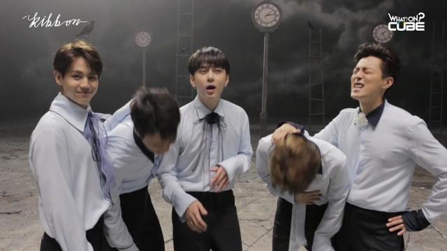 비스트 - '리본(Ribbon)' MV 촬영 비하인드!