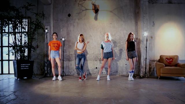 "Wonder Girls(원더걸스) ""Why So Lonely"" Dance Practice Video"