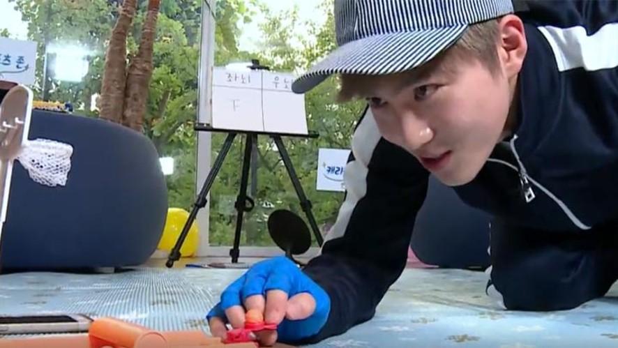 EP14. 엑젤웃 수호의 좌뇌 Vs. 우뇌 (SUHO the funniest member of EXO's left brain Vs. right brain)