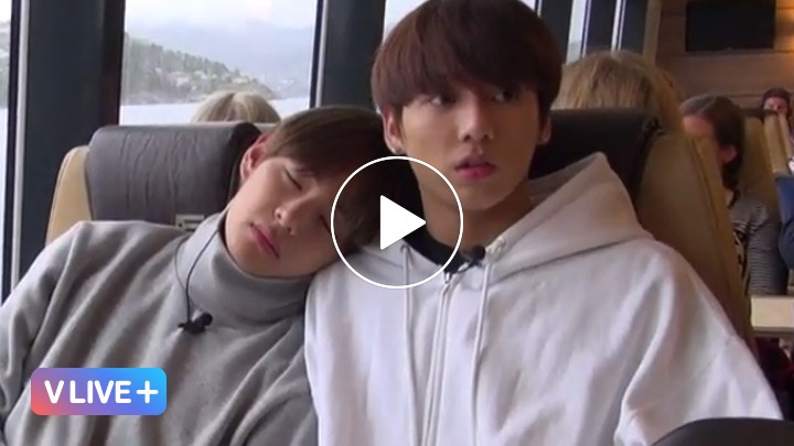 [V LIVE] [GIFT VOD] BON VOYAGE Behind cam EP3