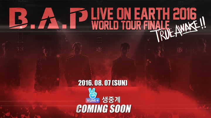 B.A.P LIVE ON EARTH 2016 WORLD TOUR FINALE [TRUE AWAKE!!]