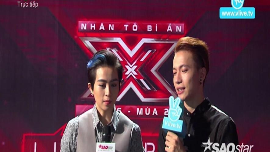 Gil Lê Hâm Mộ Tinh Thần Vững Vàng Của Thí Sinh X Factor