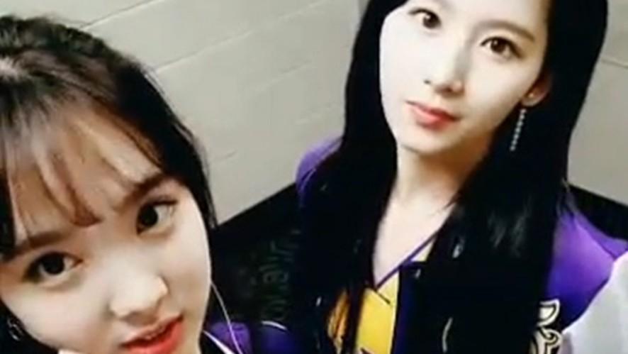 [TWICE] 흑발 요뎡님 + 스포 요뎡님 = 팬들 심쿵 (Twice gives Heart attack)