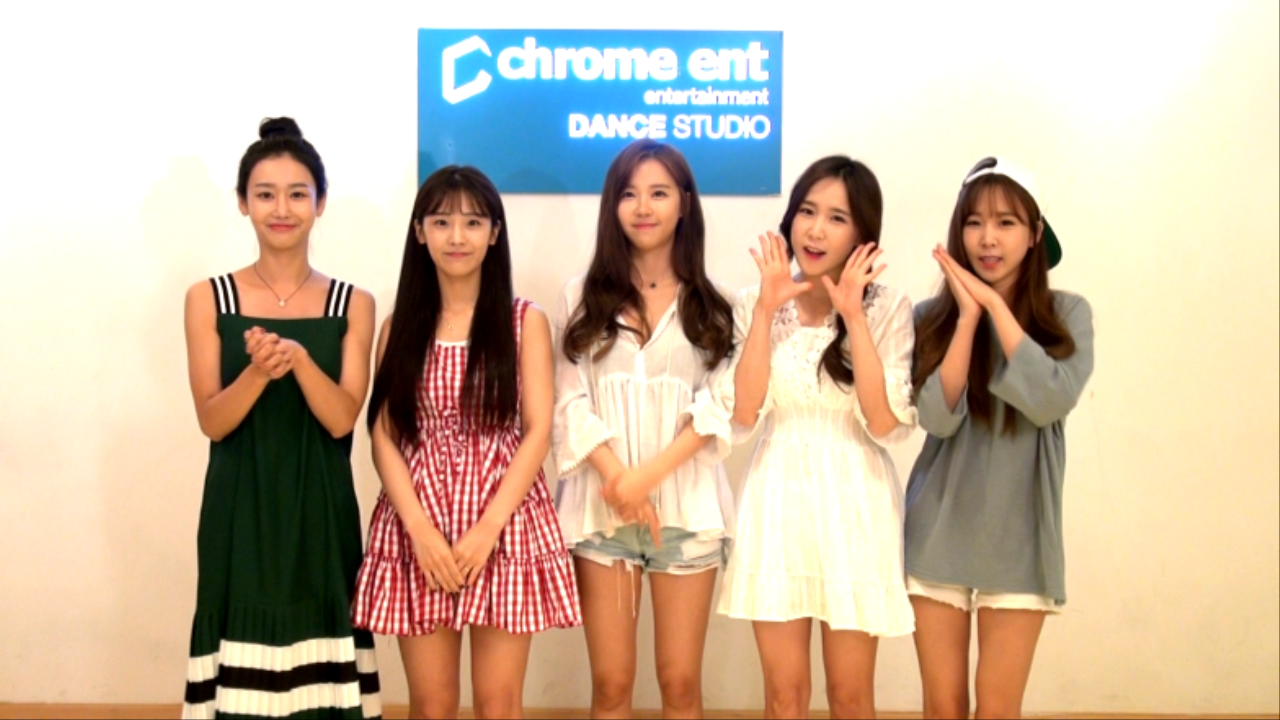 "CRAYONPOP ""V"" Channel Open"