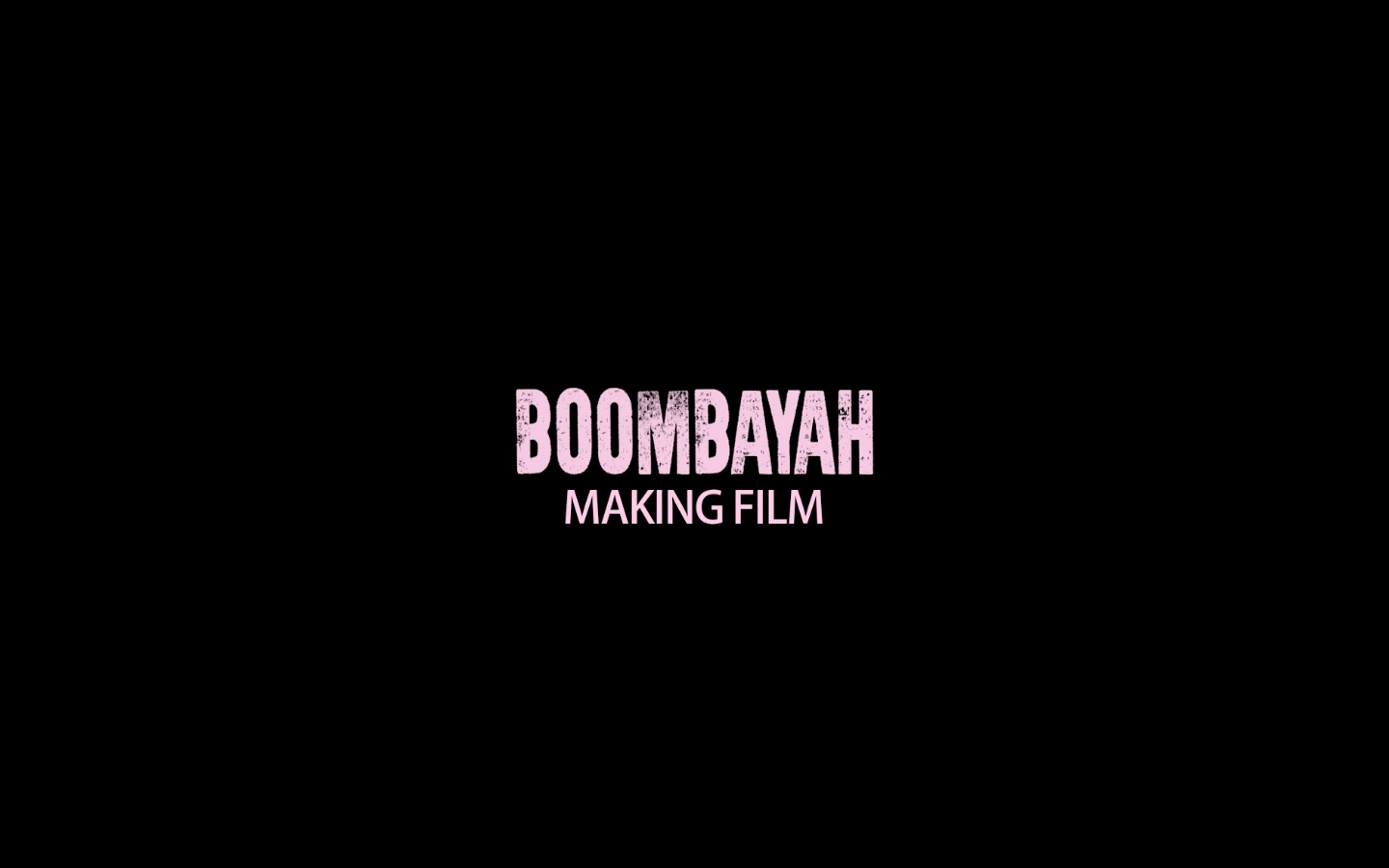 BLACKPINK - '붐바야'(BOOMBAYAH) M/V BEHIND THE SCENES​