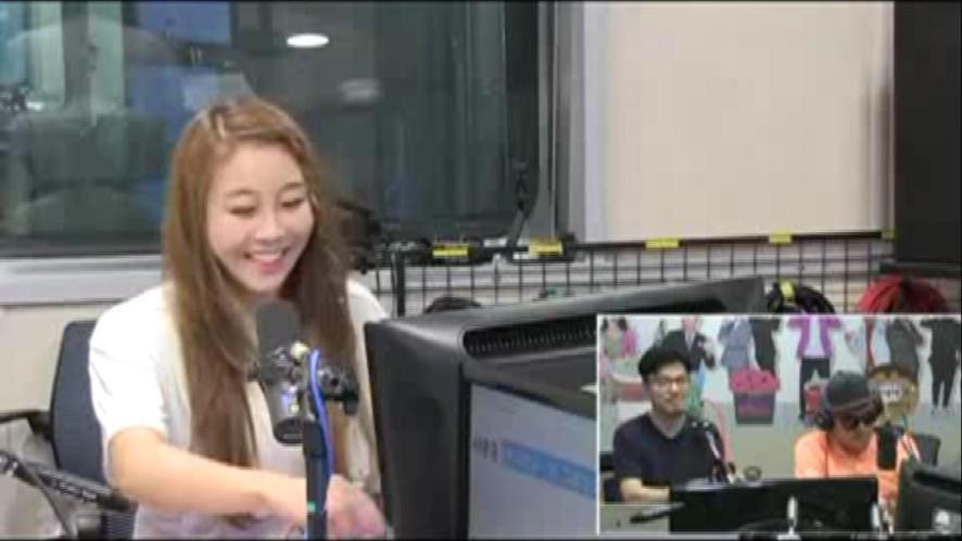 황인선 SBS라디오(LOVE FM) 김흥국/봉만대의 털어야산다 [여자친구편 커버댄스]