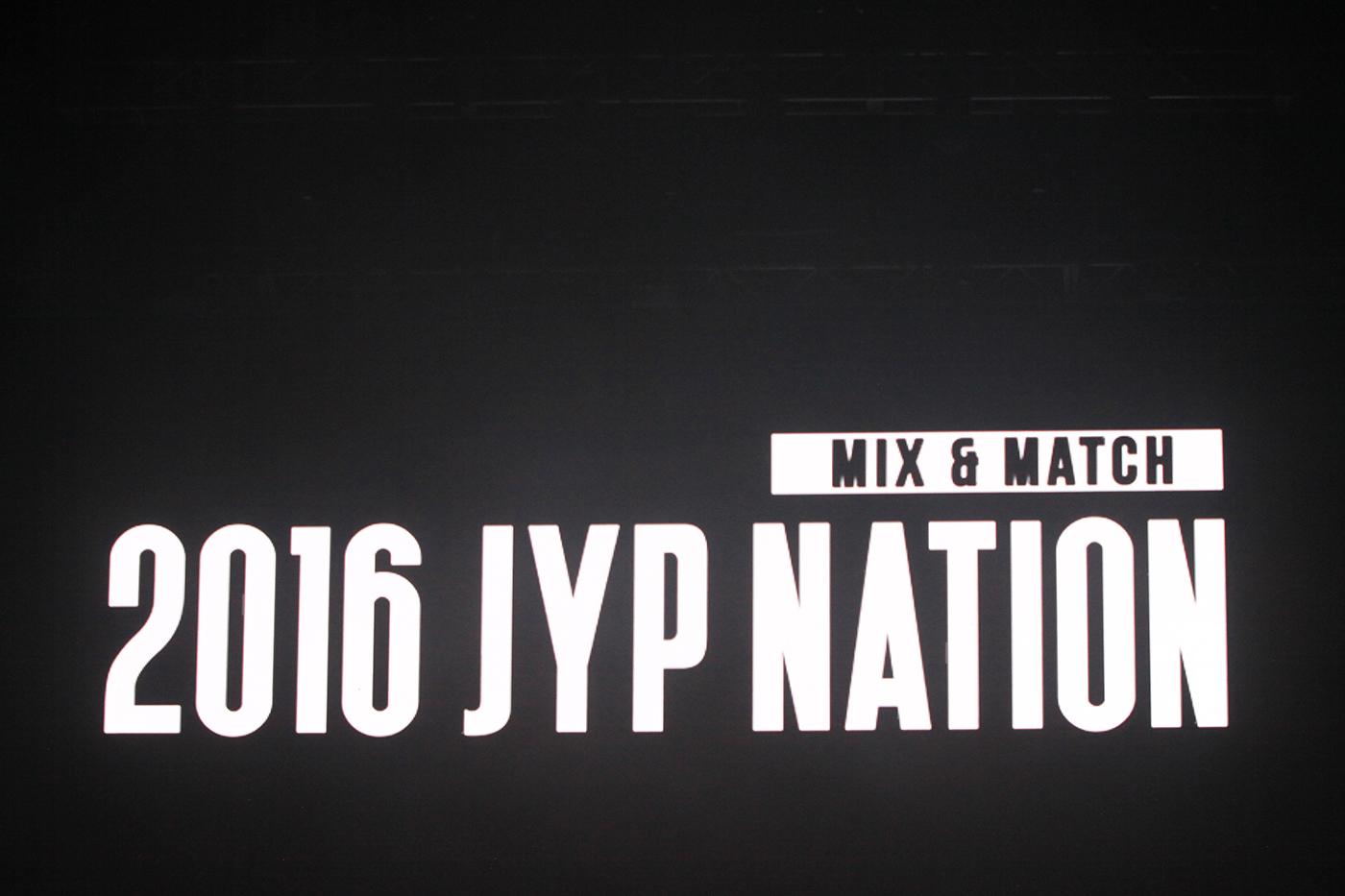 '2016 JYP NATION CONCERT MIX&MATCH' – JYP NATION 핫해! 핫해! ♬ 뜨거운 열기의 현장!