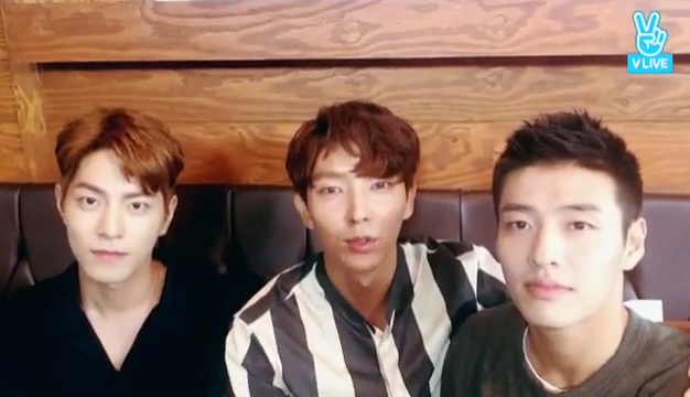 [Lee Joon Gi] 오빠들과의 영상통화..♥ (Video calling with 3 oppas)