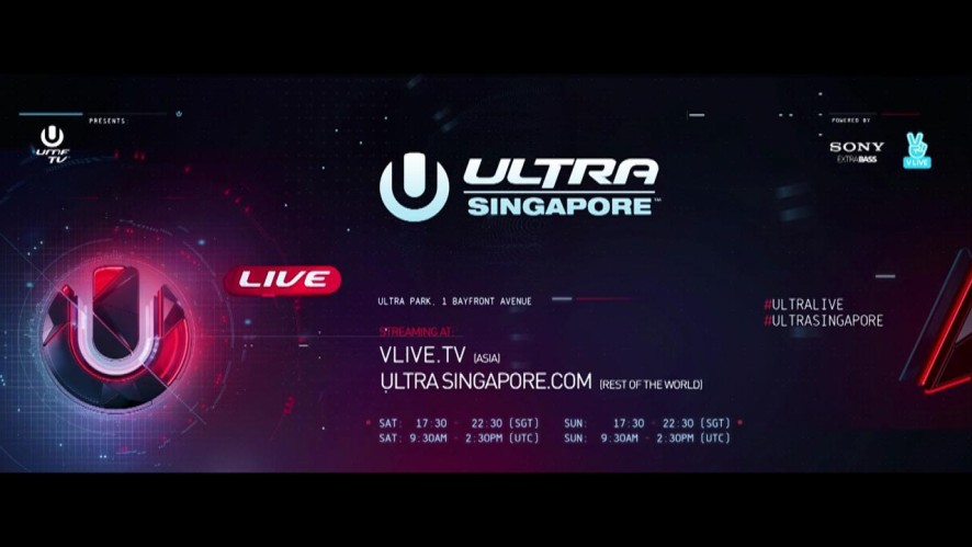 [ULTRA SINGAPORE] SCHEDULE