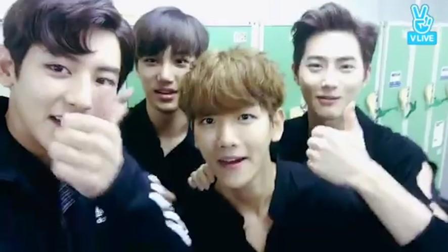 [EXO] 보름보름달이 떠~ 까취까취해~ (SUHO's Chuseok Song)