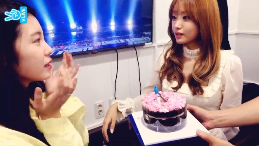 [JUN HYO SEONG] 눈물의 쏭지 축하 파티🎉  (Congrats on Jieun 5th Solo Album)