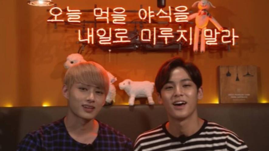 [Replay]SEVENTEEN Jun&Mingyu's<NIGHT EATING SHOW>-세븐틴 준&민규X<같이먹어요>