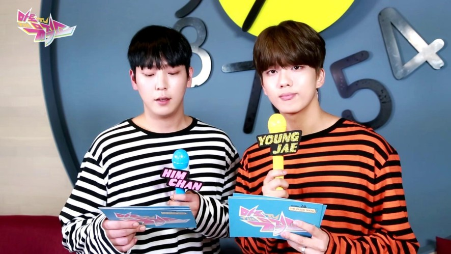 [MATO TV ON-AIR] B.A.P Him Chan & Young Jae & Jong Up - THE MUSIC SHOW