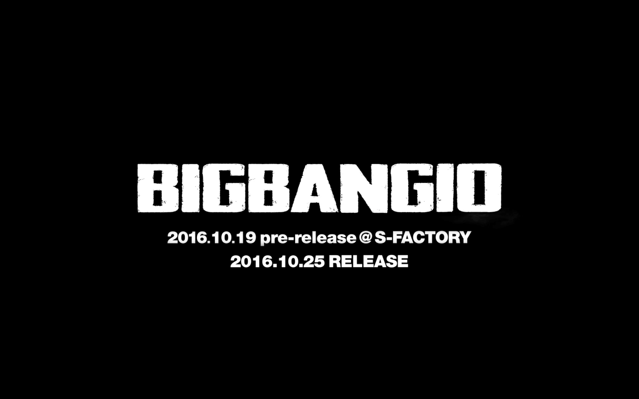 BIGBANG10 THE COLLECTION - 'A TO Z' PROMO SPOT