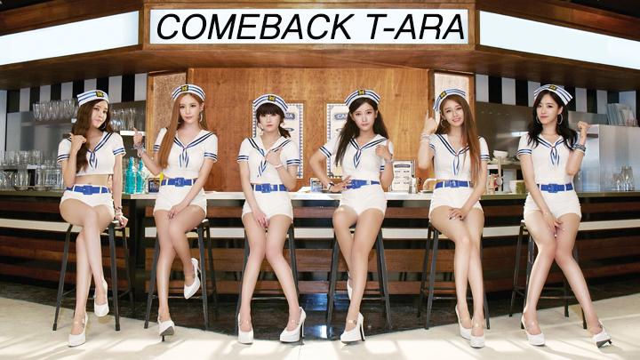 [T-ARA] T-ARA COMEBACK D-10 <자켓 촬영 현장 훔쳐보기>