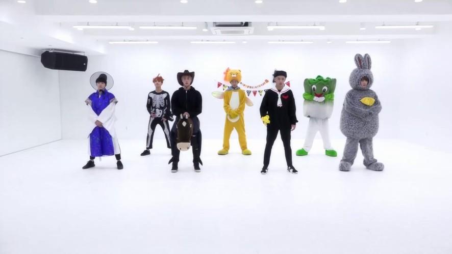 BTS '21세기 소녀 (21st Century Girl)' Dance Practice (Halloween ver.)