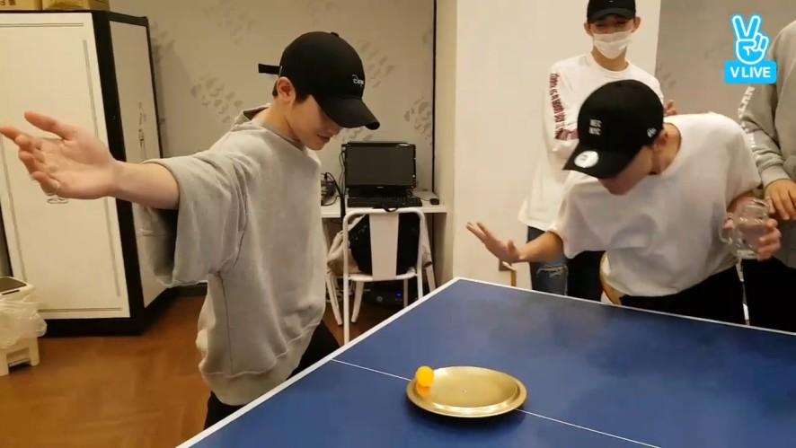[SEVENTEEN] 이것이 바로 세븐틴 탁구대회다(SEVENTEEN playing pingpong)