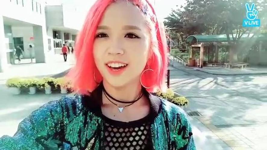 Suni[수니]Hậu trường buổi diễn ở Ansan