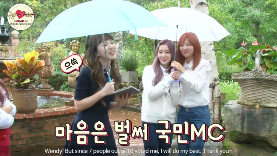 Red Velvet's A Picnic On A Sunny Afternoon PART 1 - Clip 1
