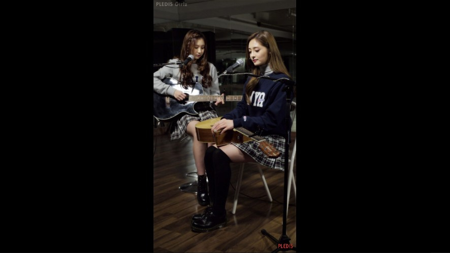 [Practice Video] 결경(PLEDIS Girlz) - Put your Records On & As Long As You Love Me (with 성연)