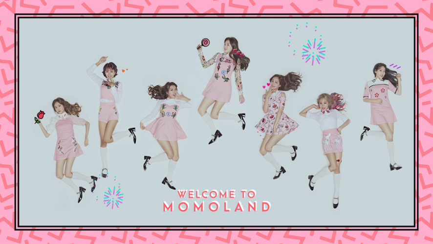 MOMOLAND 1st mini album - Teaser Images 모모랜드