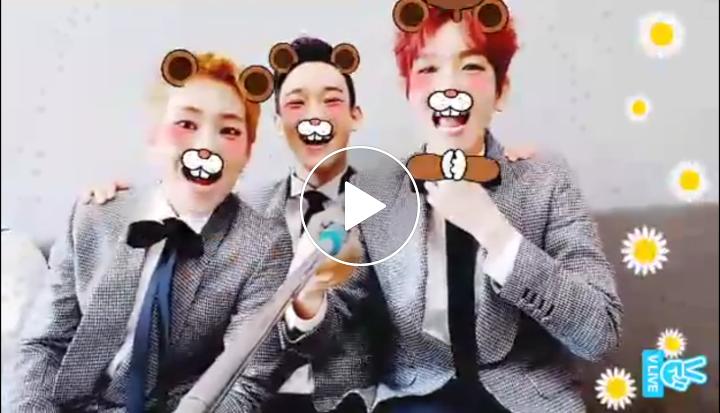 [V LIVE] 첸백시 걍방