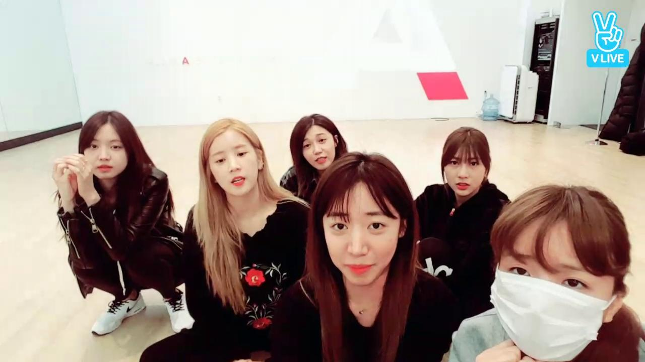Apink Broadcast  (콘서트 연습!)