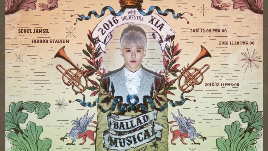 김준수 - 2016 XIA Ballad & Musical Concert with Orchestra vol.5