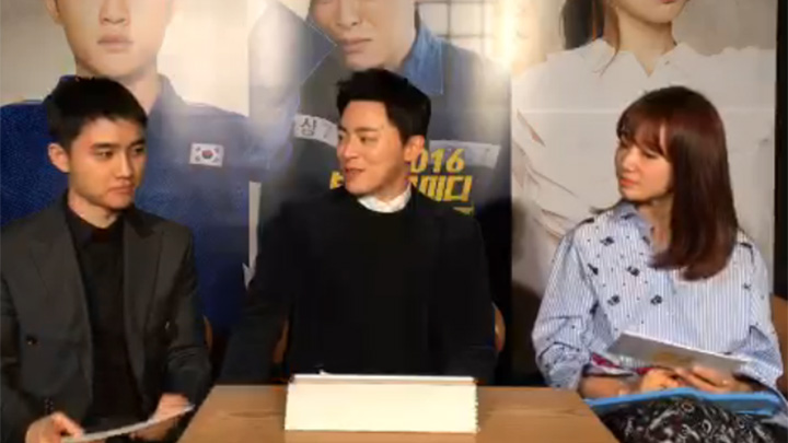 조정석,도경수,박신혜~ '소원을 말해 형형형' 스팟 라이브