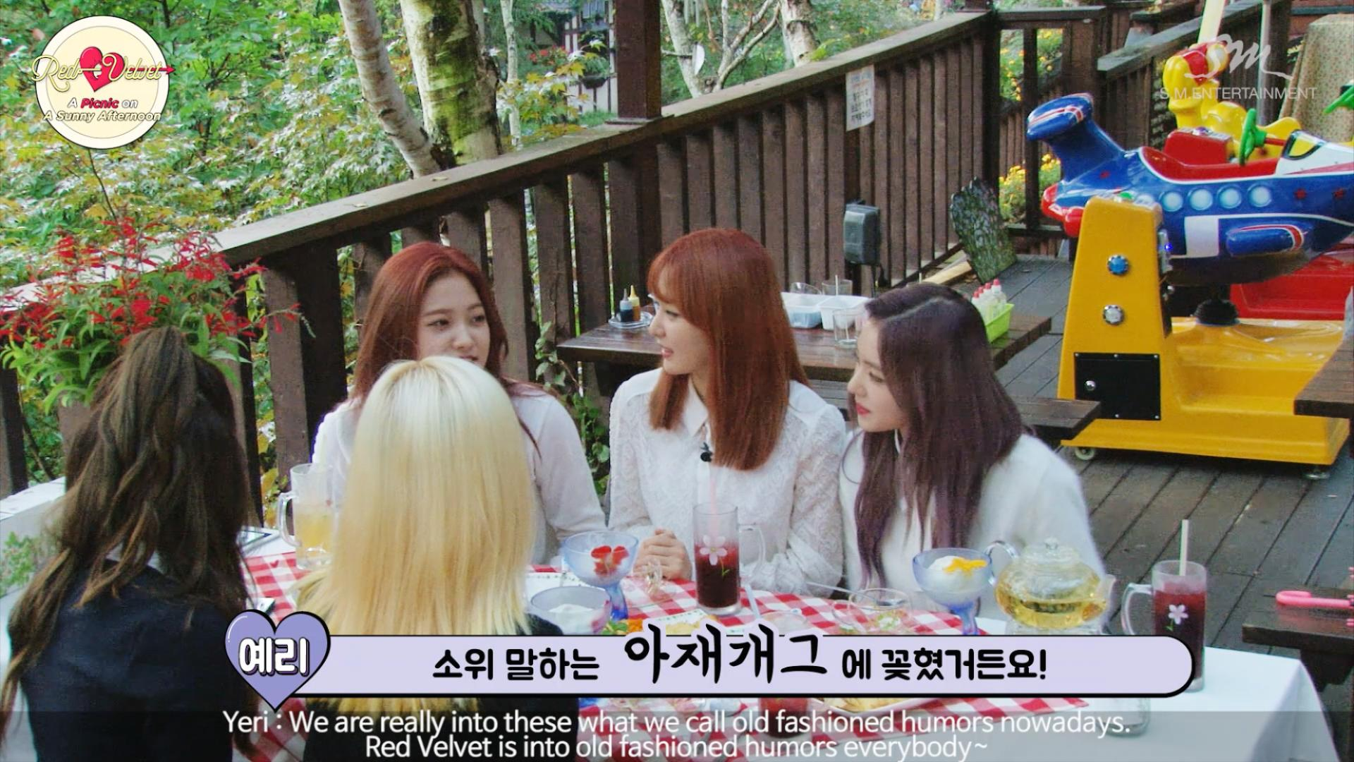 Red Velvet_A Picnic On A Sunny Afternoon PART 2 - Clip 5