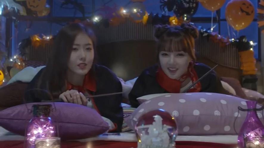 [GFRIEND] 옌니와 신비의 잠자는 자세😴(YERIN&SINB talking about sleeping position)