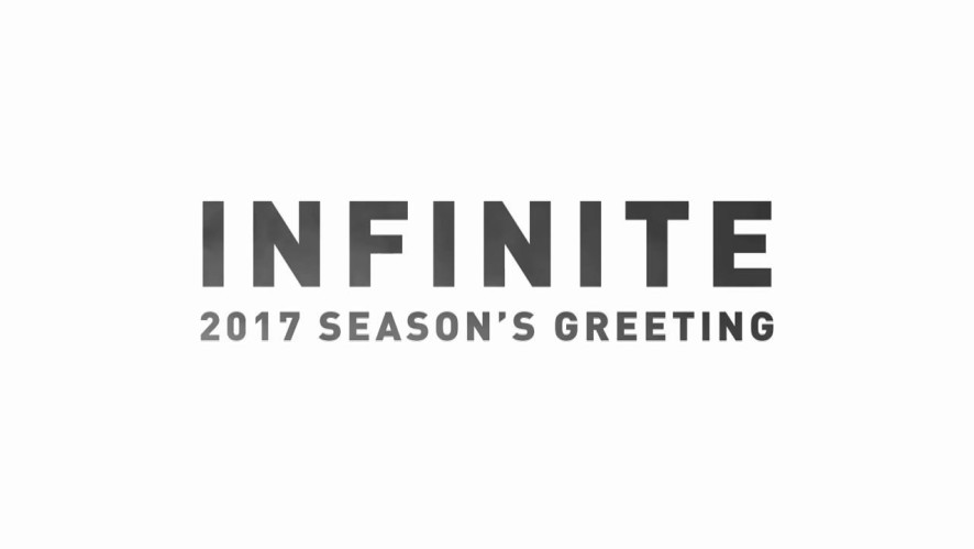 INFINITE 2017 SEASONS GREETING MAKING