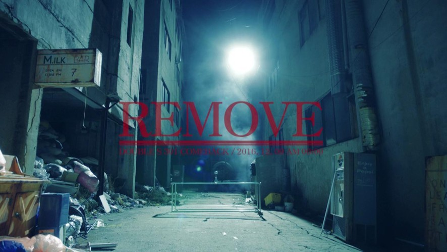 "2ND MINI ALBUM <ETERNAL 0> <ETERNAL 1> ""REMOVE"" TEASER VIDEO"