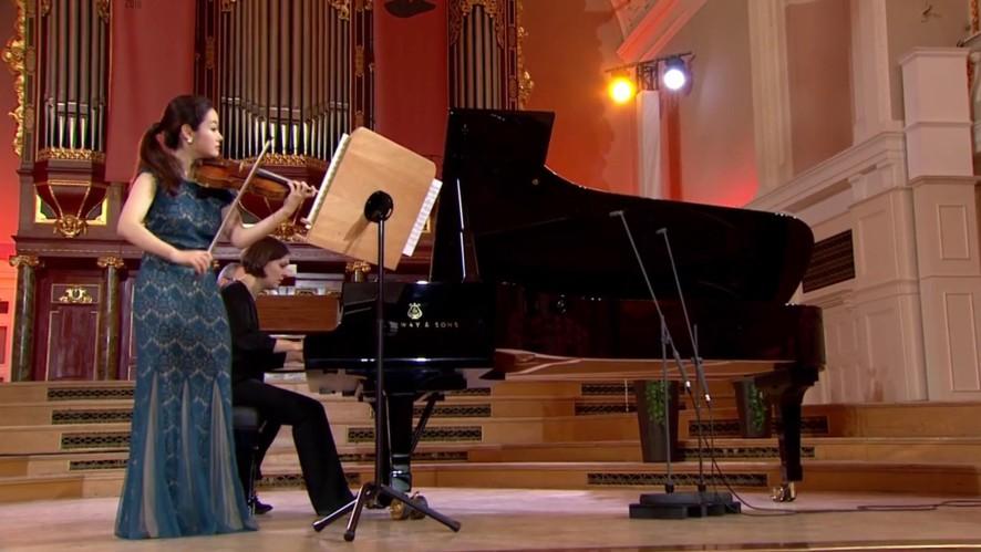 생중계 맛보기! 콩쿠르 영상으로 먼저 만나보는 바이올리니스트 김봄소리의 연주♪