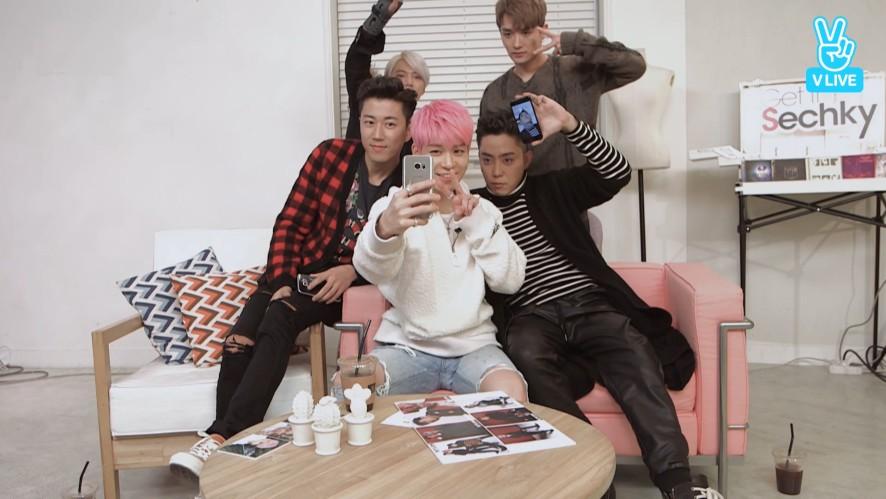 [SECHSKIES] 젝키의꽃 후니의 셀카교실📷💥  (Sung-hoon's Selfie Class)