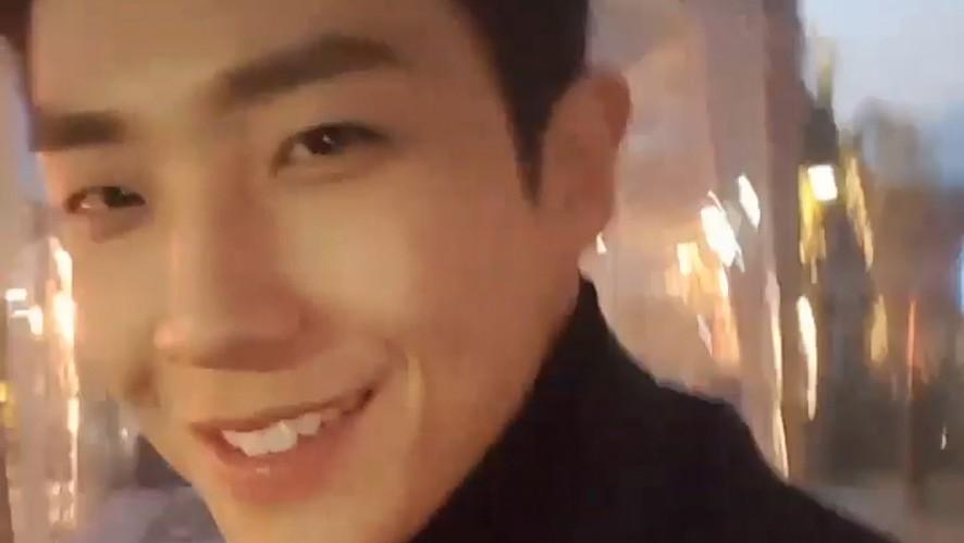 [LEE JOON] 창선오빠 웃는걸 보니 세상 행복하다(Lee Joon with happy smile)