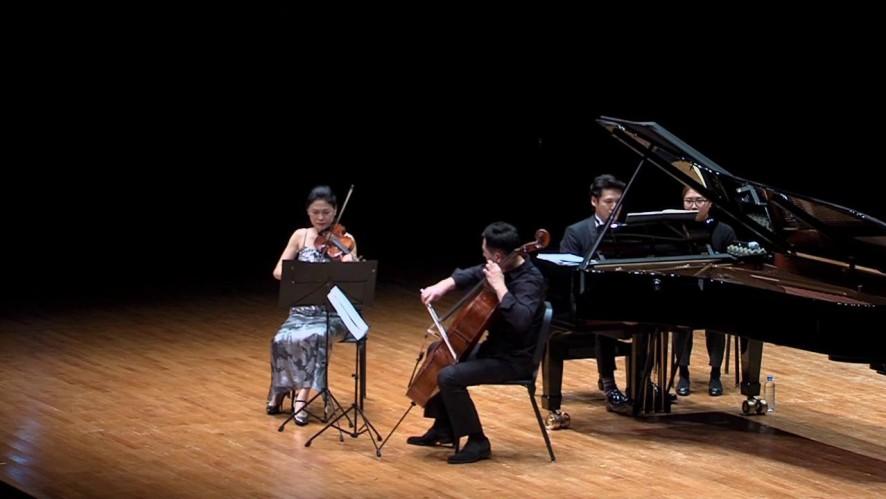조재혁 & 이경선 & 송영훈 - '멘델스존 : 피아노 트리오 1번 라단조, Op. 49 4악장'