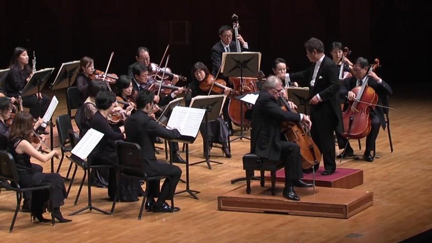 첼리스트 아르토 노라스(Arto Noras) - 첼로 협주곡 제 2번 라장조, Hob.VIIb: 2