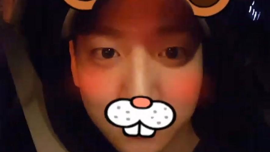[B1A4] 넘나 귀여운 바람쥐🐹의 필터놀이(BARO playing with camera filters)